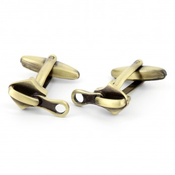 Zipper cufflinks - Zip