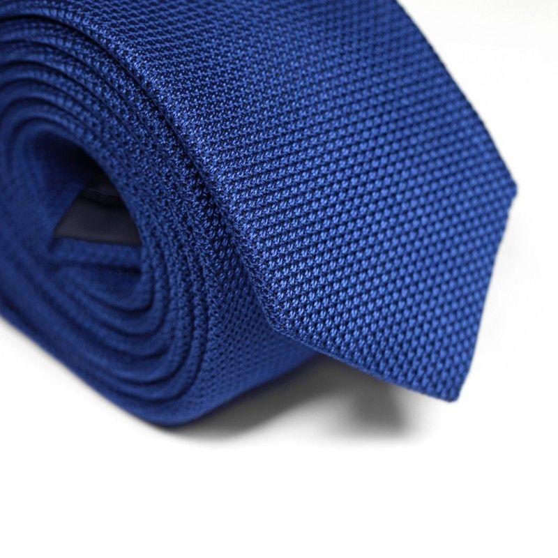 Blue Grenadine Silk The Nines Tie - Grenadines IV