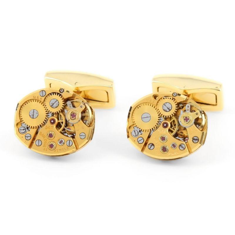 Bulova Watch Movement Gold Color