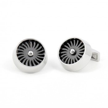 Functional fan cufflinks - LAX