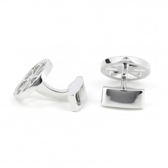 Rudder cufflinks - Vendée