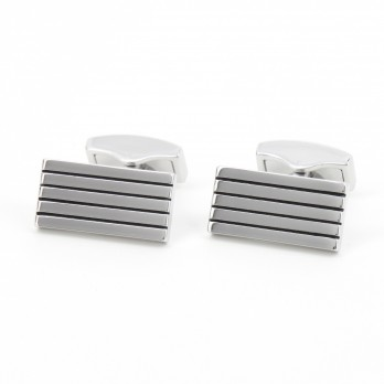 Rectangular cufflinks - Manhattan IX