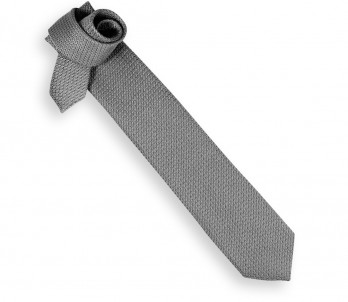 Grey Grenadine Silk Tie - Grenadines III