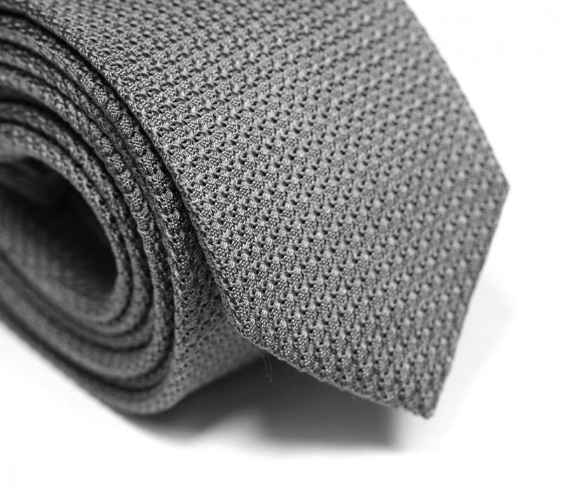 Grey Grenadine Silk Tie - Grenadines III