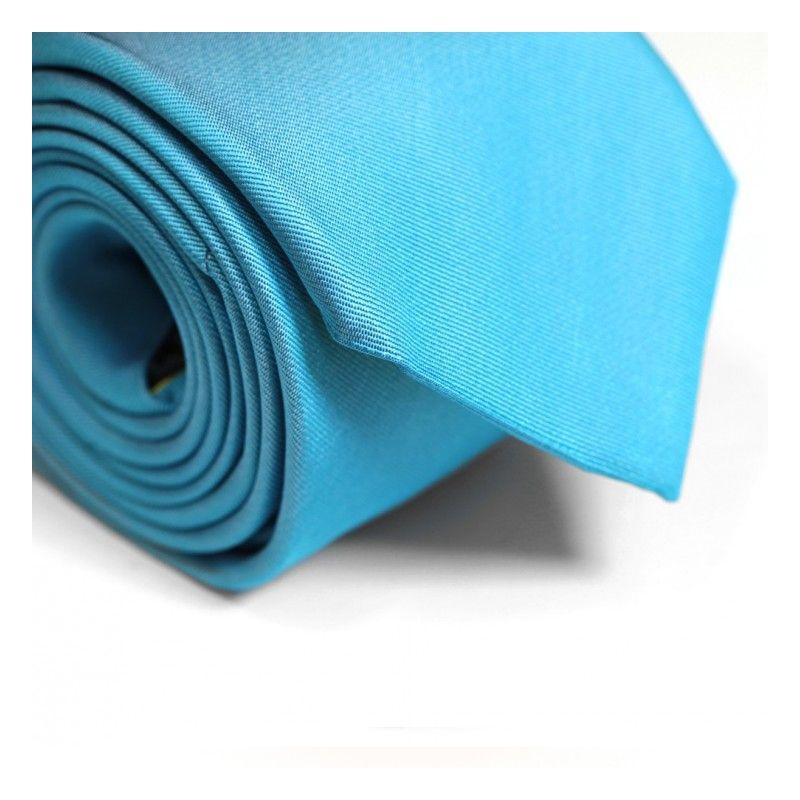 Turquoise Blue Tie - Milan II