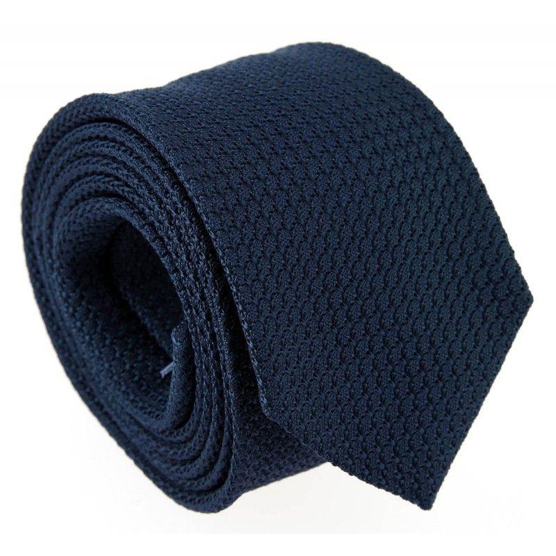 Navy Blue Grenadine Silk The Nines Tie - Grenadines III