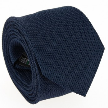 Steel Blue Grenadine Silk The Nines Tie - Grenadines IV