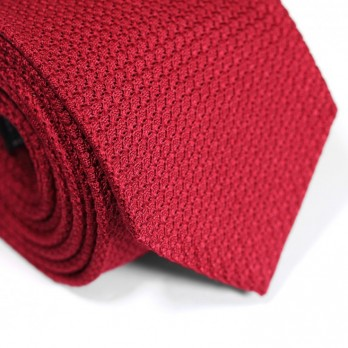 Red Grenadine Silk Tie - Grenadines III