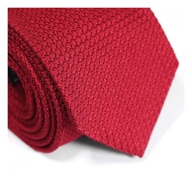 Red Grenadine Silk Tie - Grenadines III