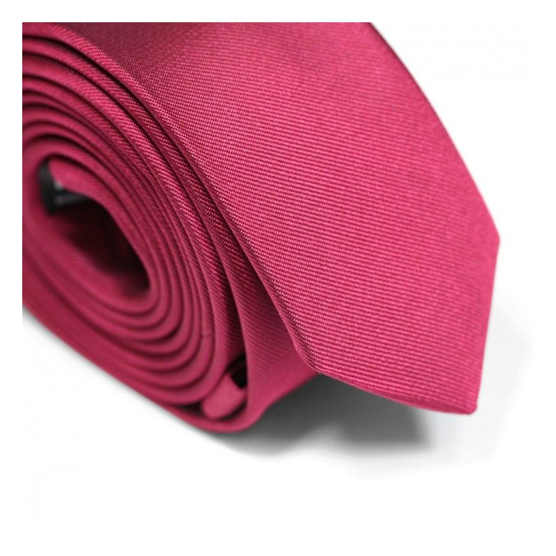 Grenadine Red Narrow Tie - Sienne
