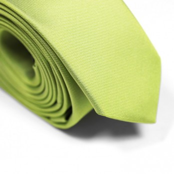 Lime Green Narrow Tie - Sienne