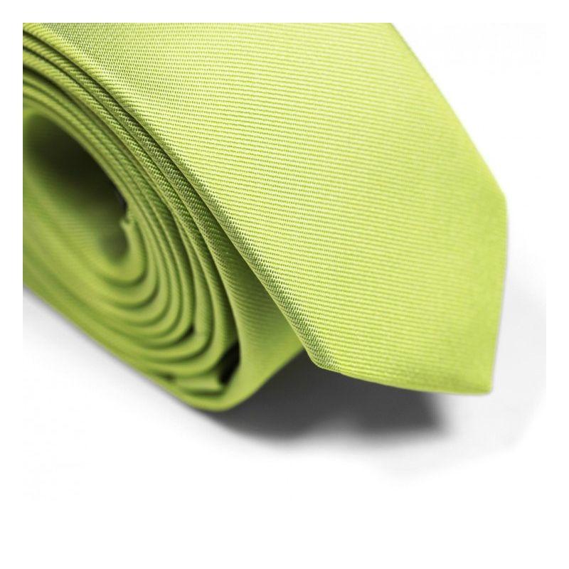 Lime Green Narrow Tie - Sienne