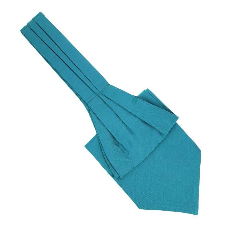 Malachite Green Ascot Tie - Ascot II