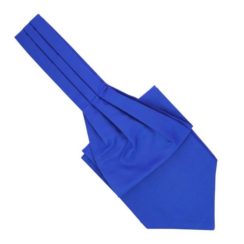 Majorelle Blue Ascot Tie - Ascot II