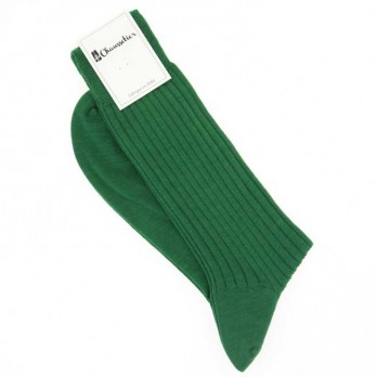 English Green virgin wool socks