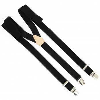 Black flexible suspenders - The Nines