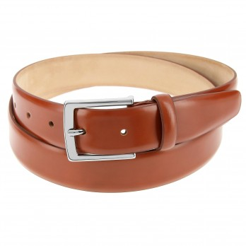 Cognac leather belt - Ben