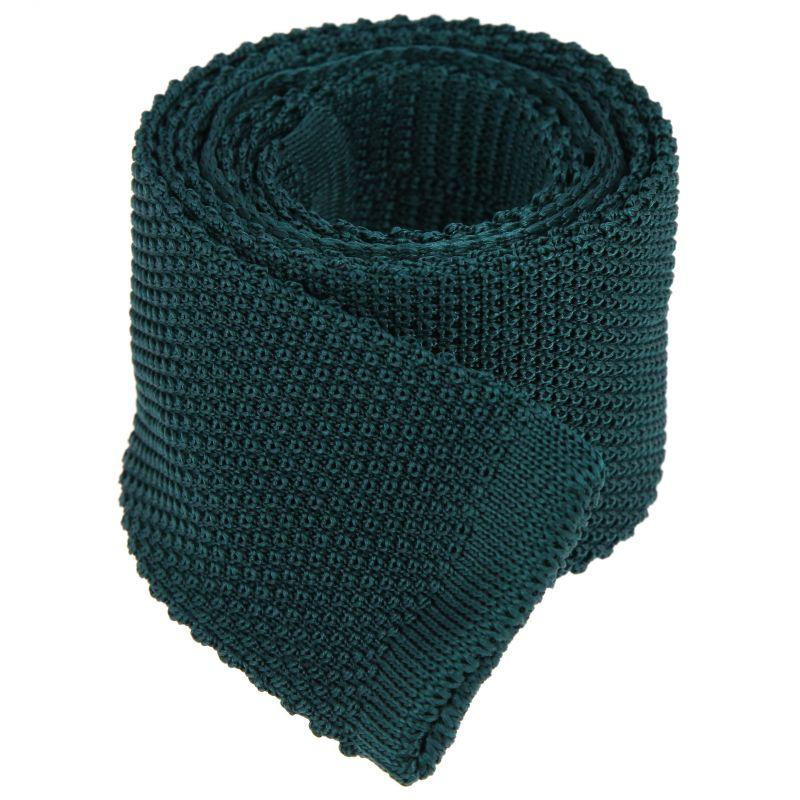 Forestgreen knitted Tie - Monza