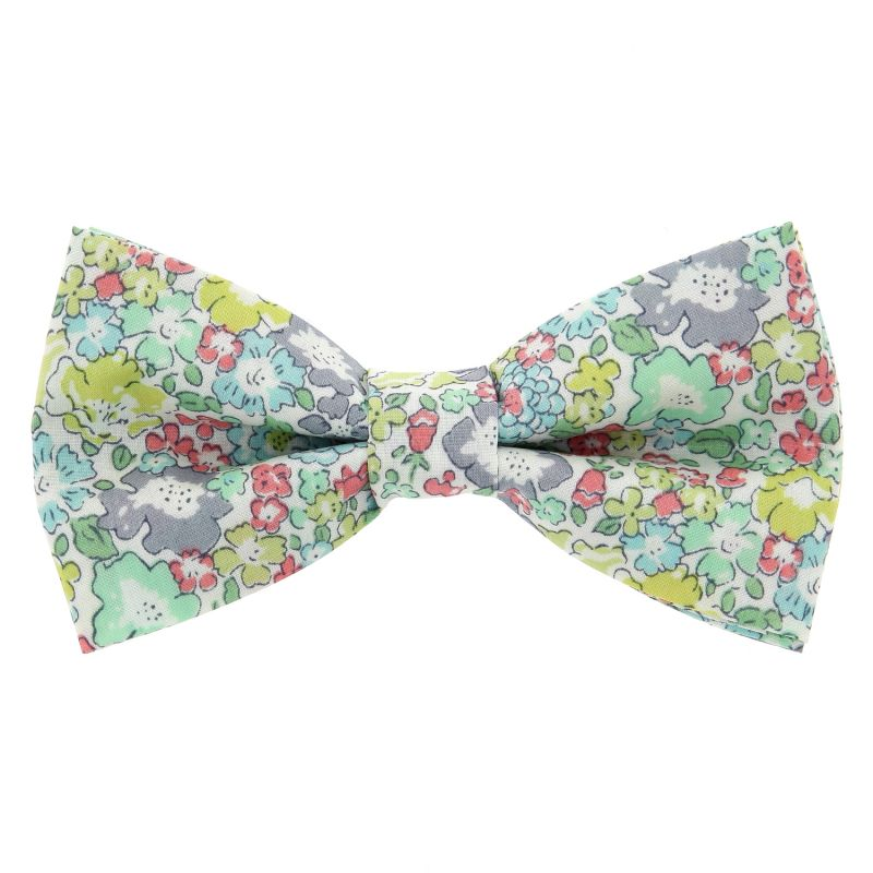 Water Green Liberty Bow tie The Nines