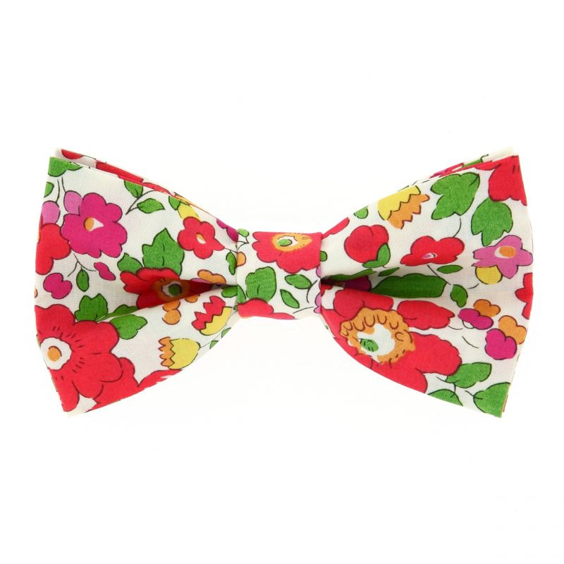 Red Liberty Bow tie The Nines