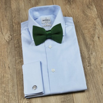 Knit Dark Green Bow tie - Monza