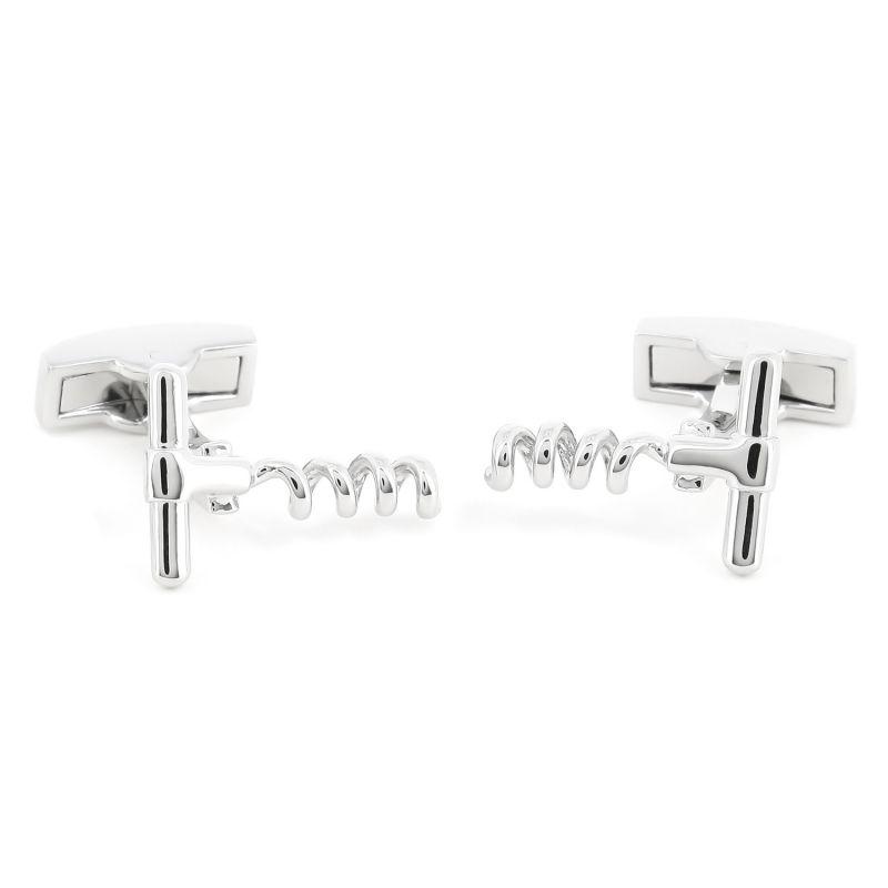 Corkscrew cufflinks - Pommard