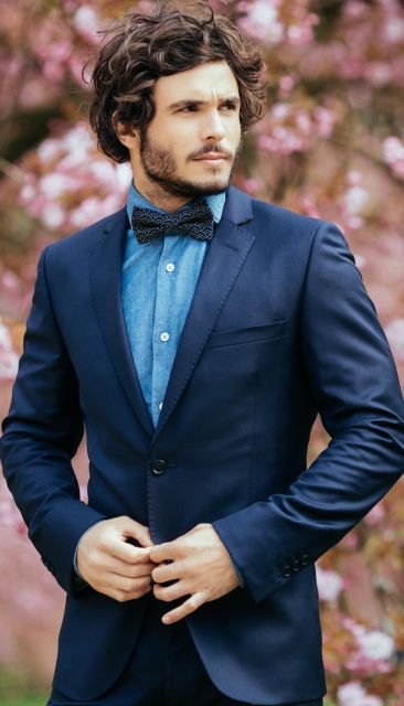 Navy blue suit from The Nines