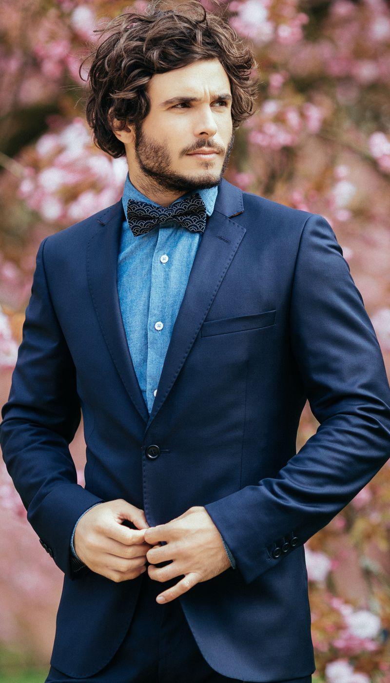 Navy blue suit from The Nines - Men's suit