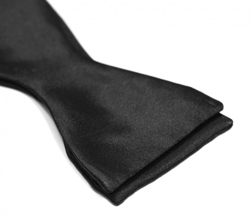 black satin bow tie bow ties the house of ties