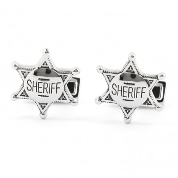 Sheriff star Cufflinks - Denton
