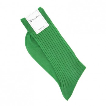 Green scottish lisle thread socks