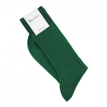 English green scottish lisle thread socks