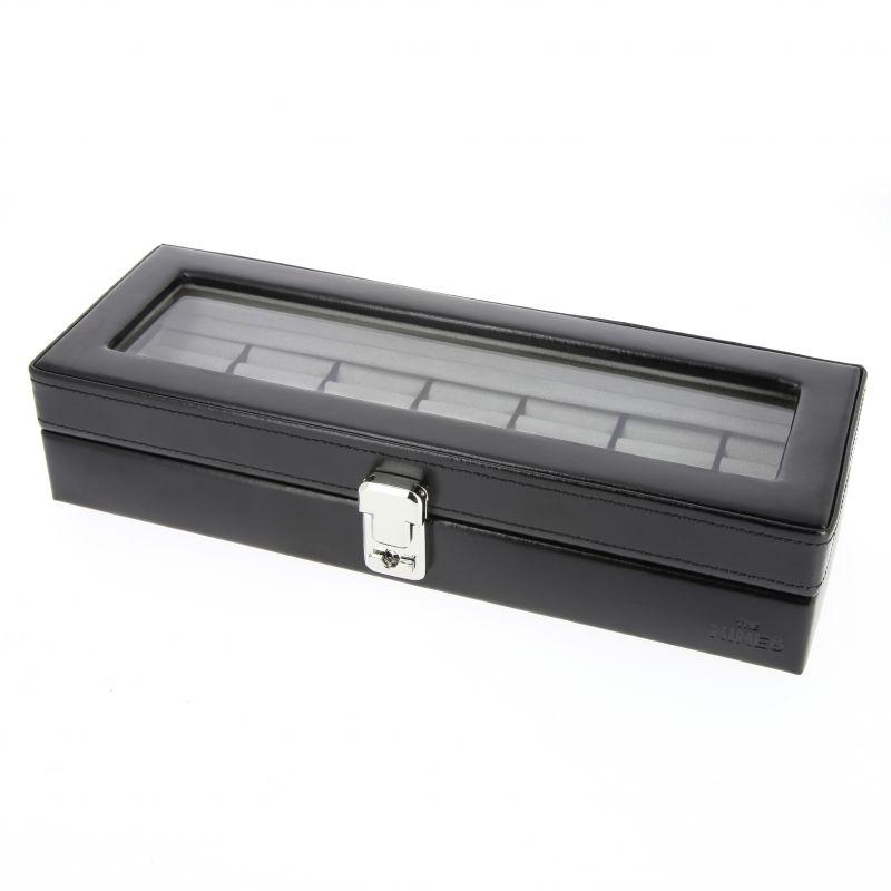 Black cufflink casket