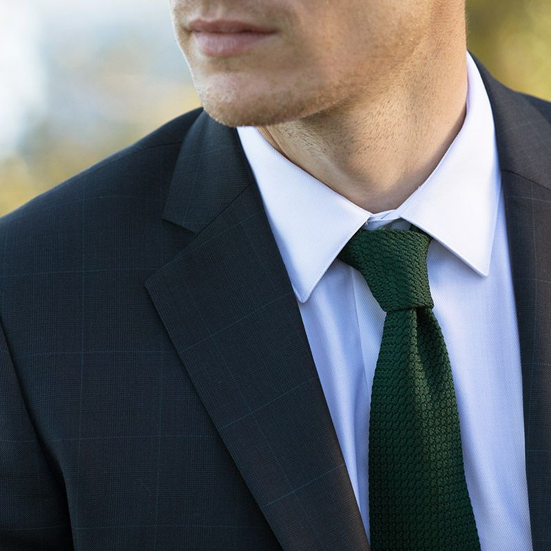 grenadine silk green the nines tie grenadines iii the house of ties. Black Bedroom Furniture Sets. Home Design Ideas