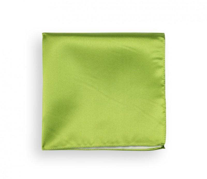 Plain Lime Green Pocket Square - Palermo