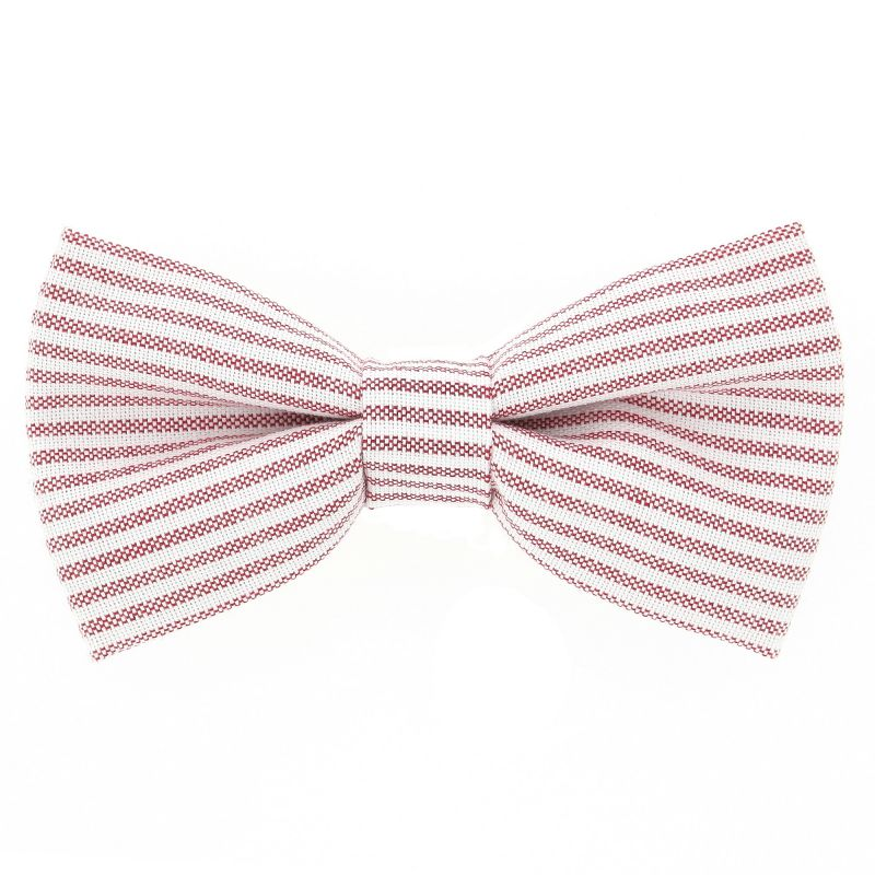 Bow Tie with Red Stripes The Nines