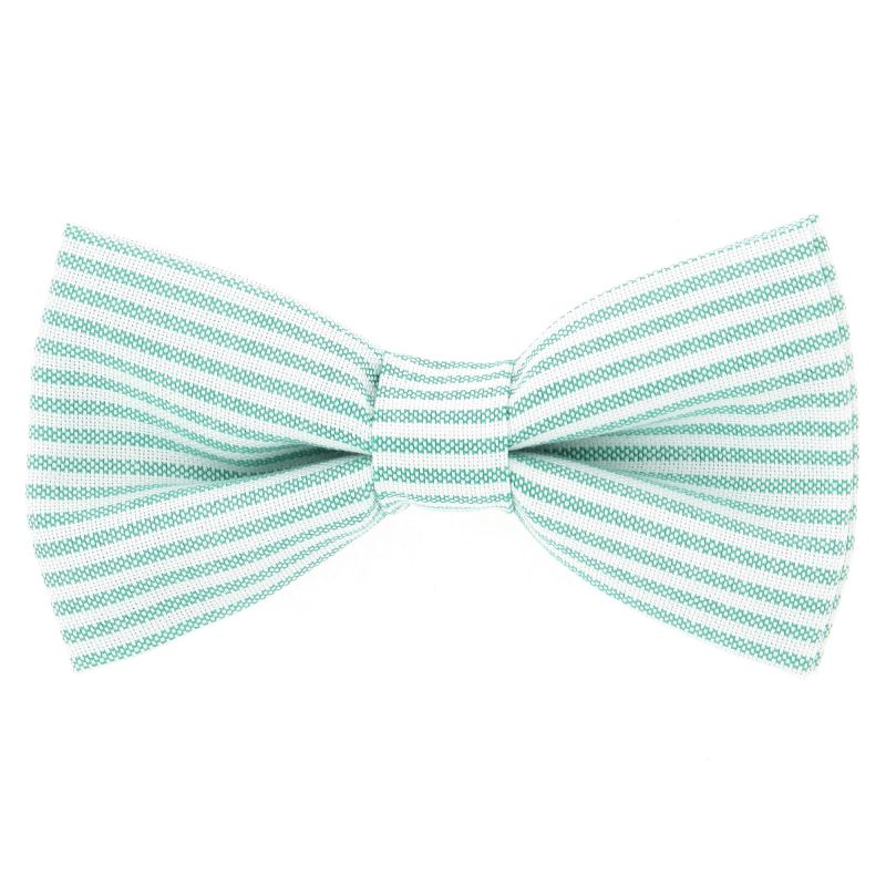 Bow Tie with Green Stripes The Nines