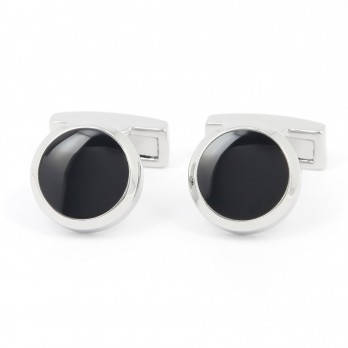 Navy Blue Cufflinks - Montreux II