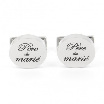 Wedding cufflinks - Groom Father