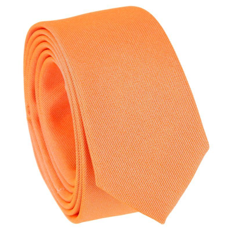 Orange Narrow Tie - Sienne
