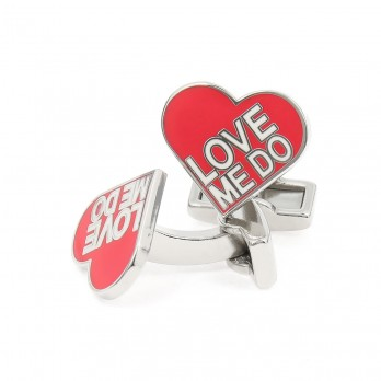 The Beatles cufflinks - Love Me Do