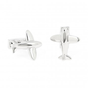 Airplane cufflinks - Seattle