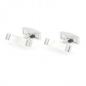 Rectangular nacre cufflinks - Daejon