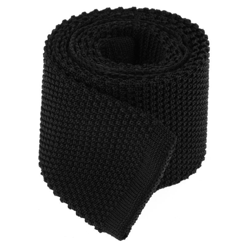 Knit Black Tie - Monza