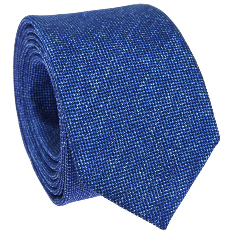 Heather Blue Tie The Nines