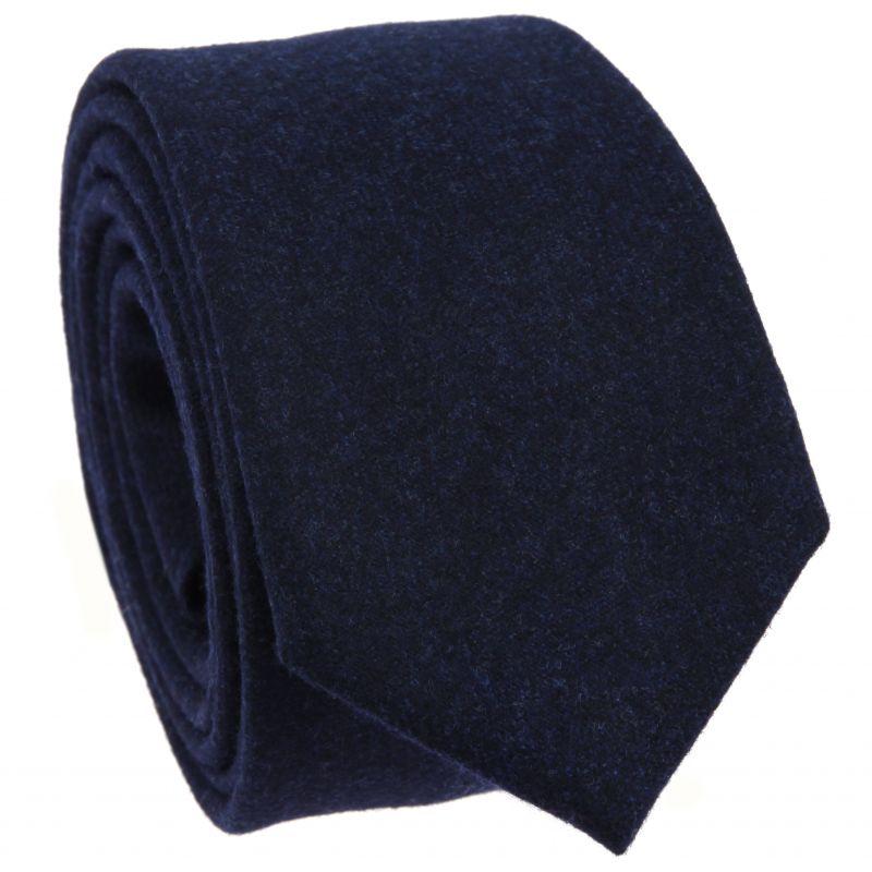 Blue Tie in Flannel