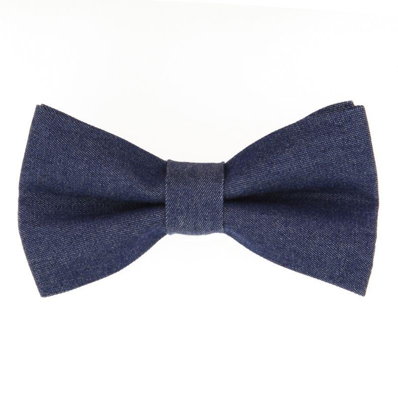 Blue Bow Tie in Bio Denim