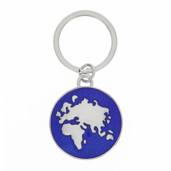 World map key rings - Globe Trotter