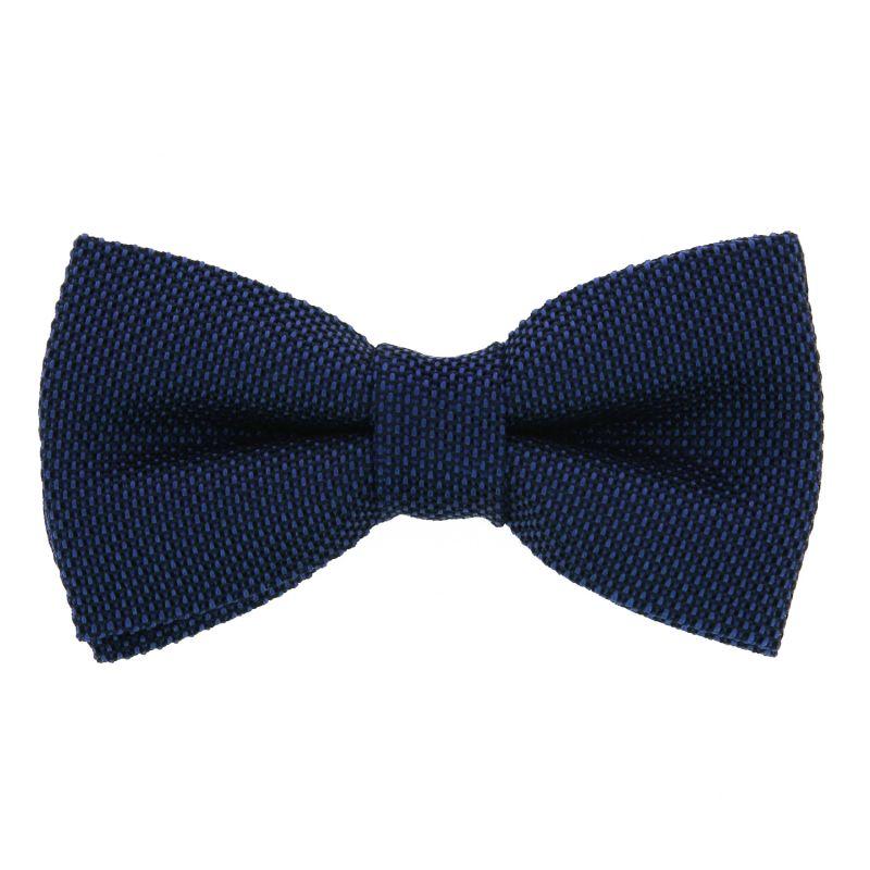 Cobalt Blue Bow Tie in Grenadine Silk
