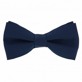 Mineral Blue Bow Tie in Silk - Côme